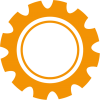 RDV Partners - Roue crantee orange